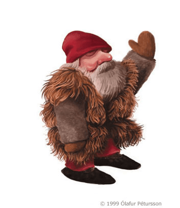Stúfur (Stubby or Itty Bitty) the 3rd Yule Lad
